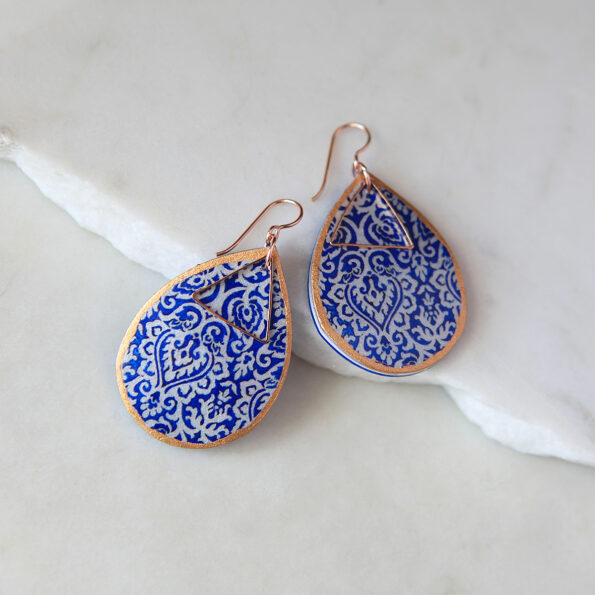 morocco art earring wedding bridesmaid earrings necklace NEXT ROMANCE