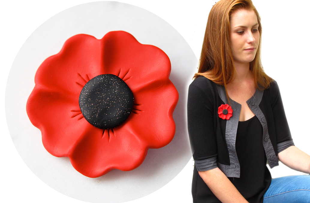 poppy brooch next romance jewellery banner