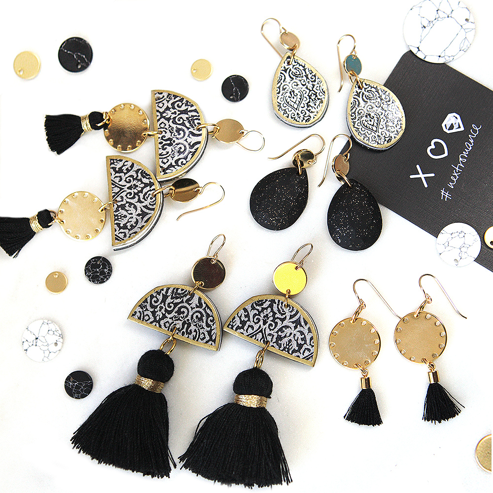 finders keepers sydney-tassel insta black luxe next romance jewellery