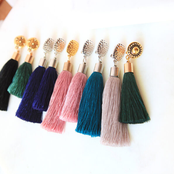 gold clipon jewellery tassel earring tops options next romance new jewellery australia