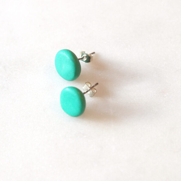 green studs polymer clay next romance jewellery australia finders keepers marketplace
