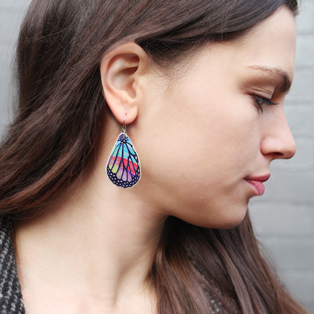 rainbow butterfly wing on julz model next romance mae it collective northcote