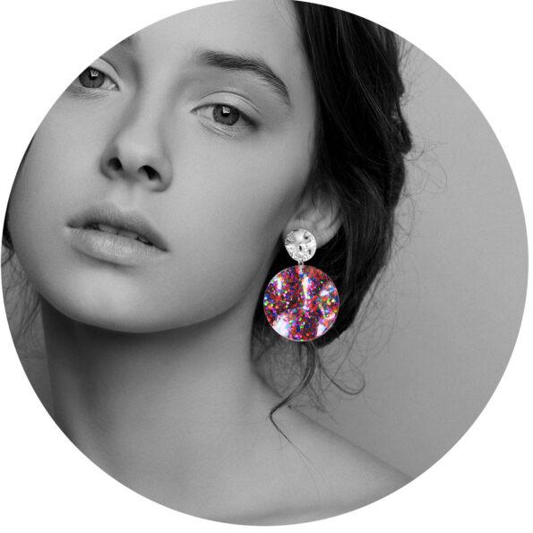 earring model multi wavey glitter unique earrings next romance jewellery australia