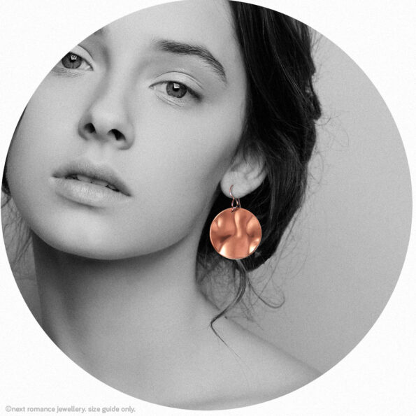 earring model 2020 copper wave Next romance jewellery made in australia