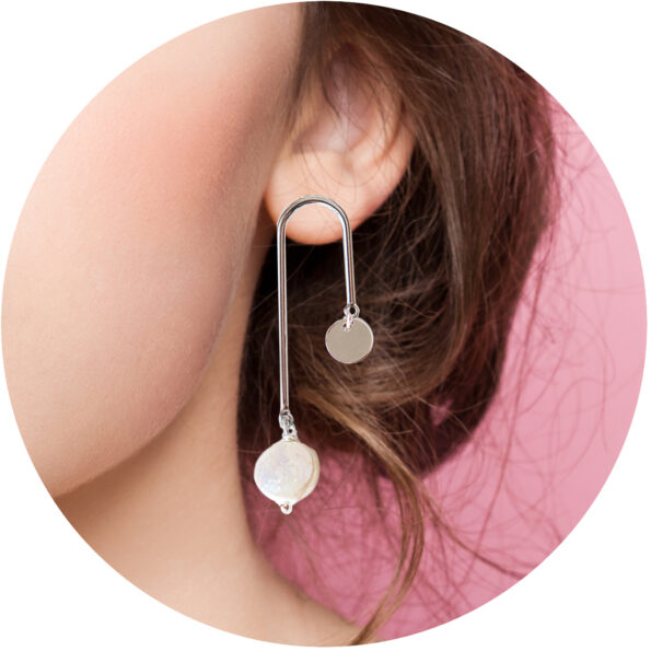 pearl earrings unique made in australia designs next romance jewellery melbourne pearl silver