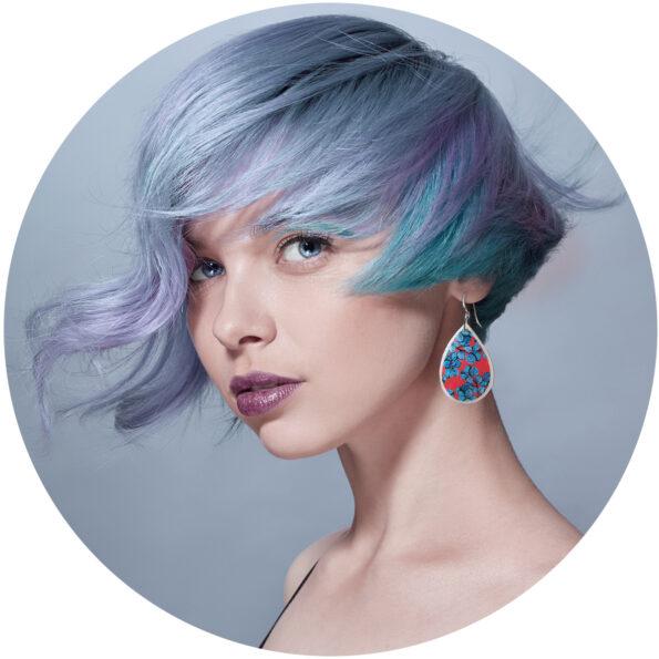 small red blue gum eucalyptus earring design new next romance jewellery australian made unique