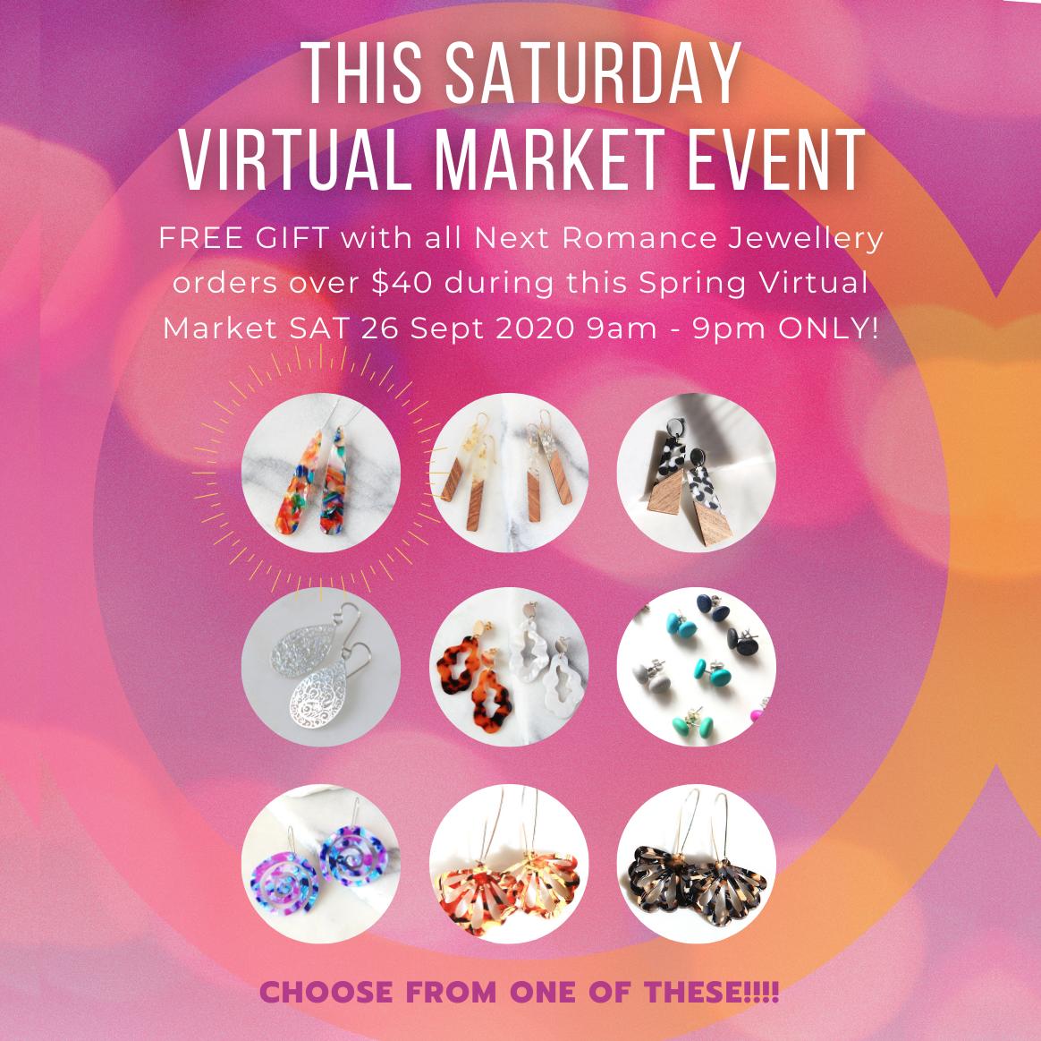 next romance virtual market free gift concept