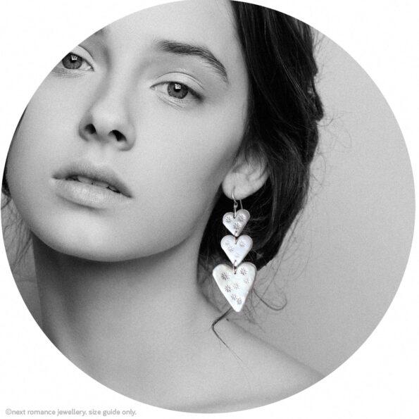 triple love bug silver stars next romance jewellery australia made model