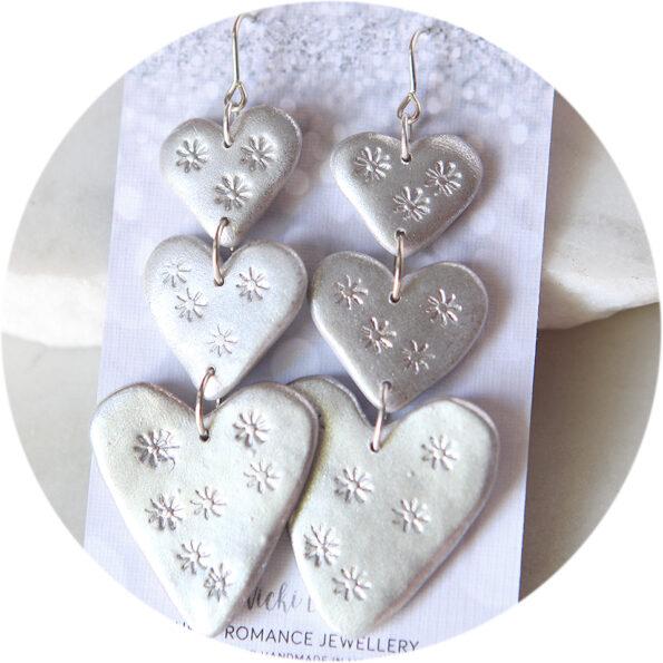 triple love bug silver stars ew next romance jewellery australia made