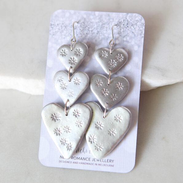 triple love bug silver stars next romance jewellery australia made